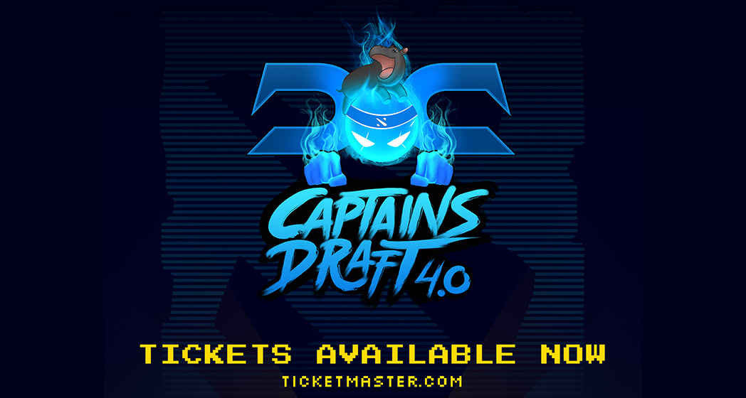 Captains Draft 4.0 Minor Tickets on Sale!