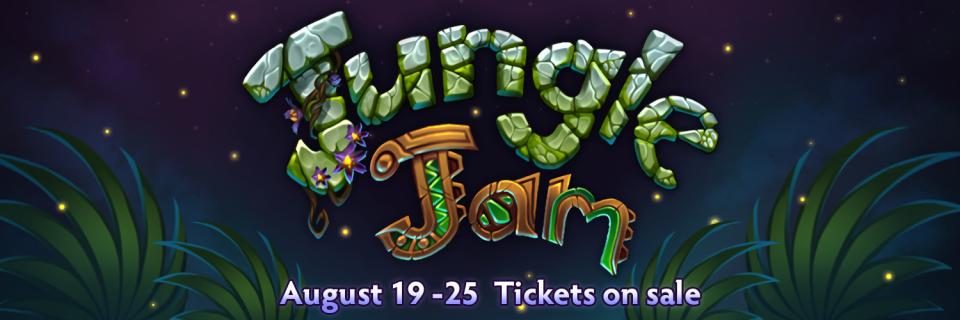 TI9 Jungle Jam Event Schedule